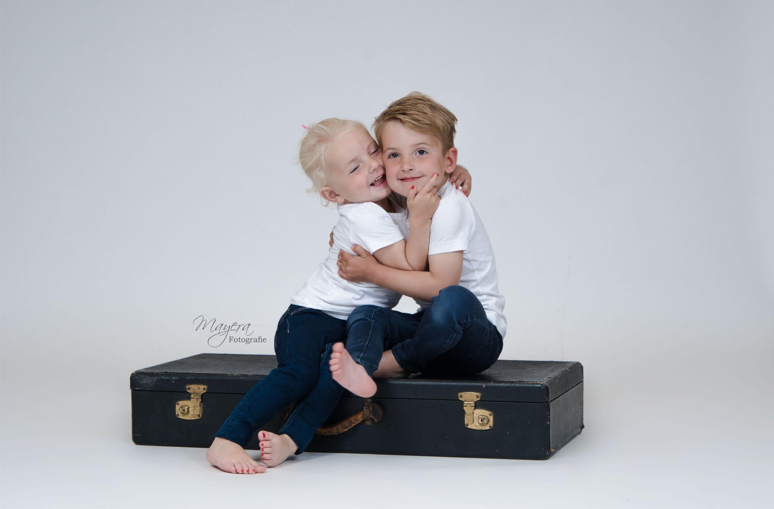 broer en zus fot
