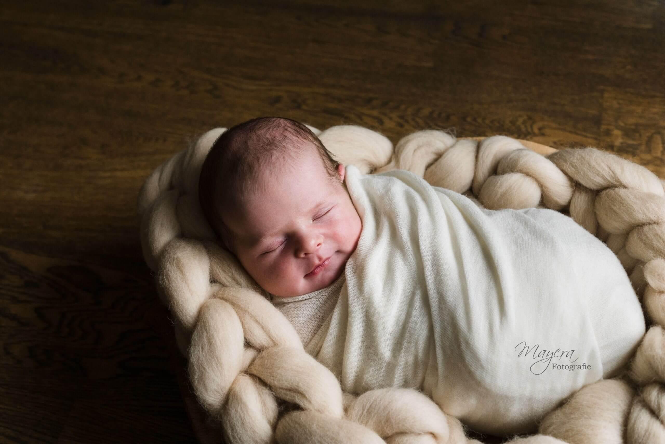 naturel newborn sessie