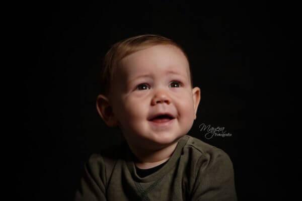 portret jongen studio licht