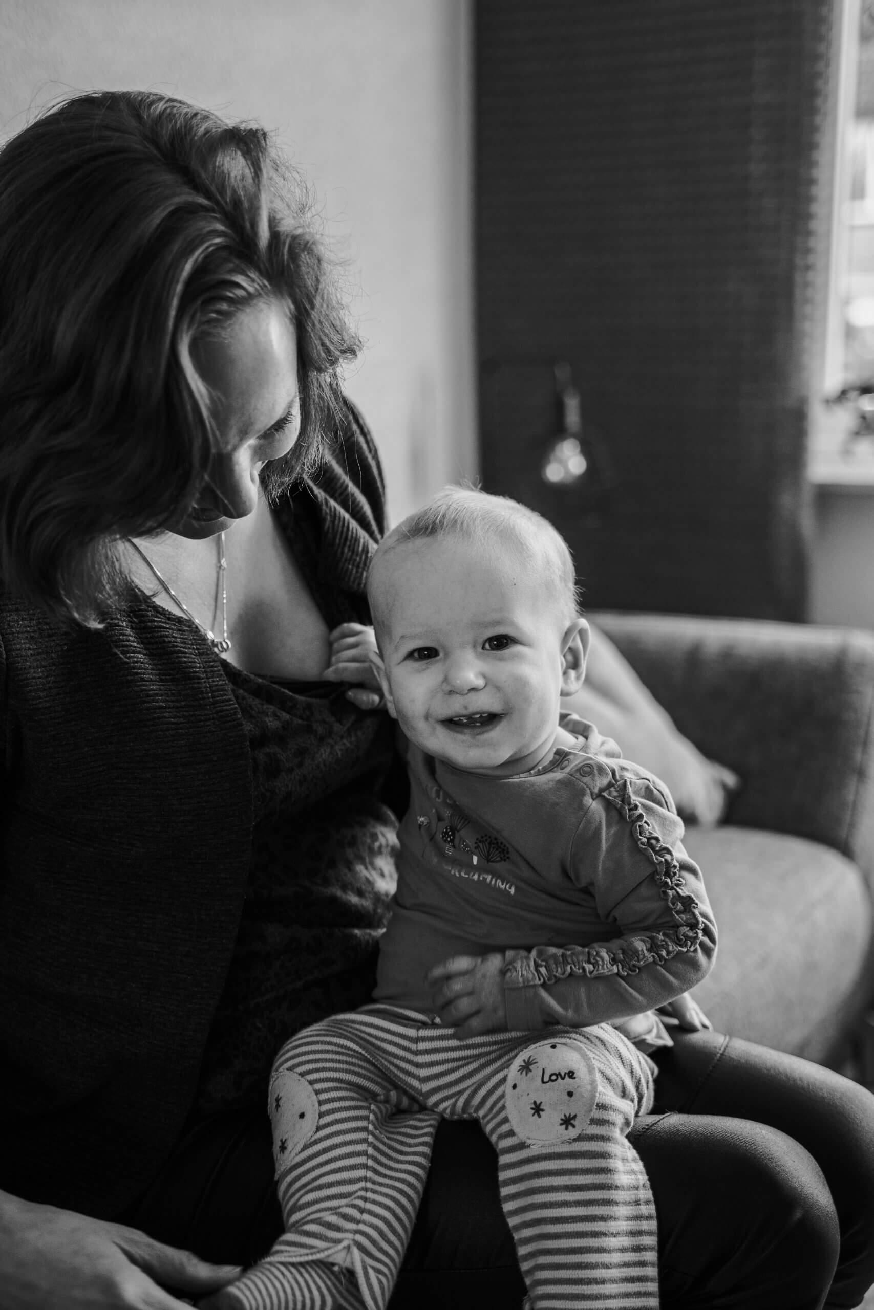 Borstvoeding geven aan je kindje