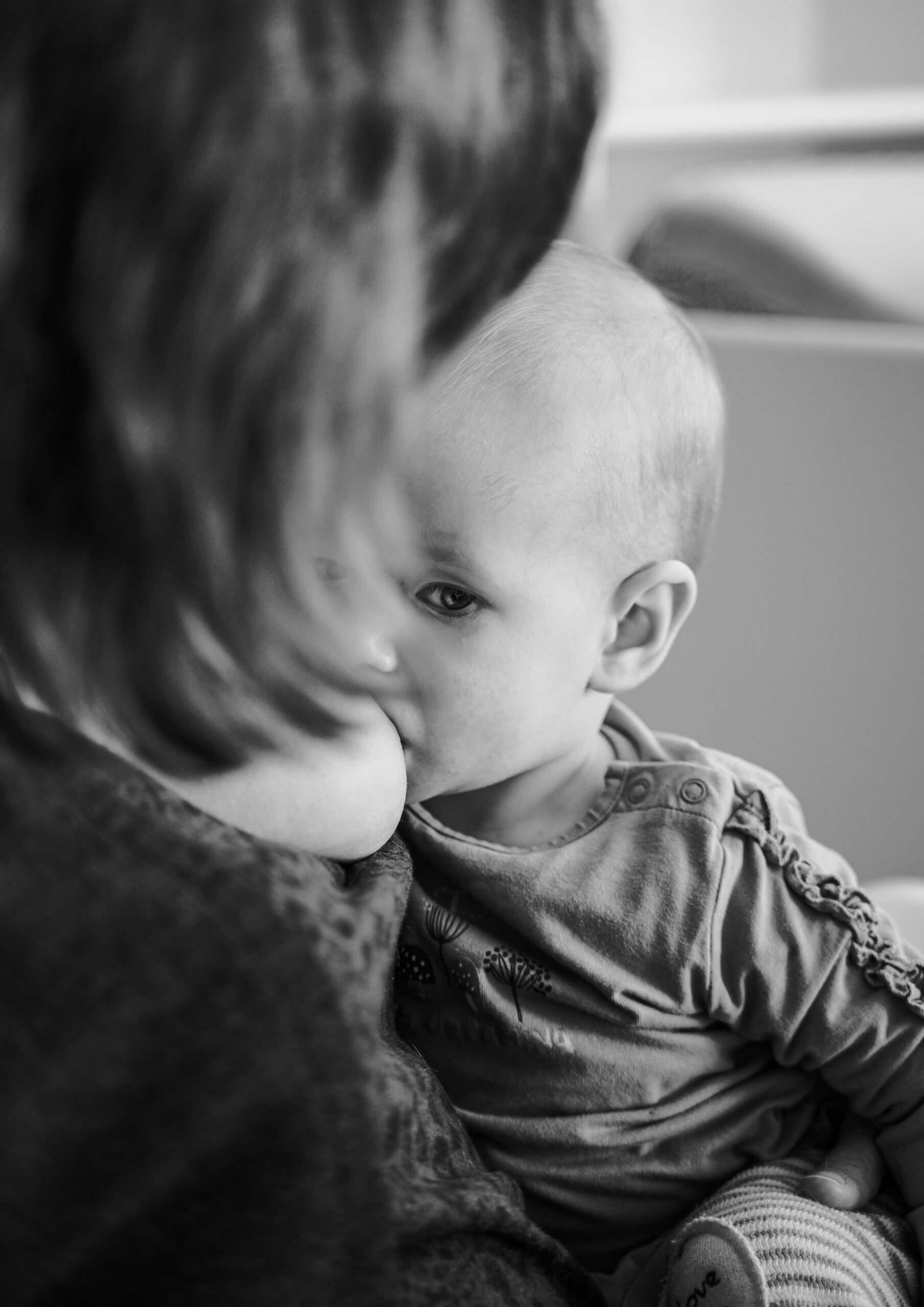 Borstvoeding ogen kindje Ijsselstein Nieuwegein