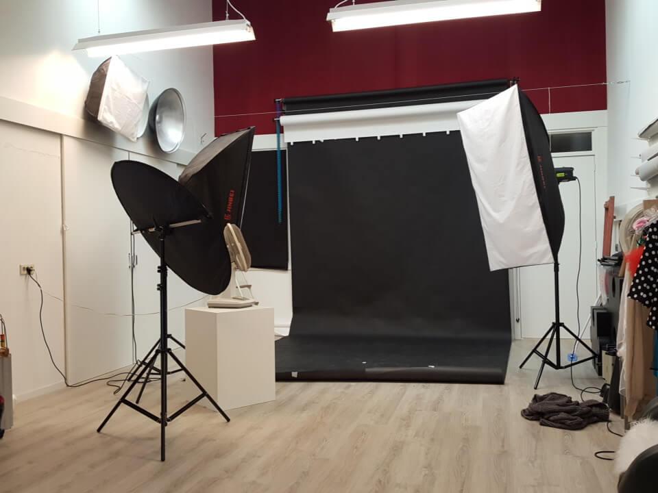 Studio oude foto