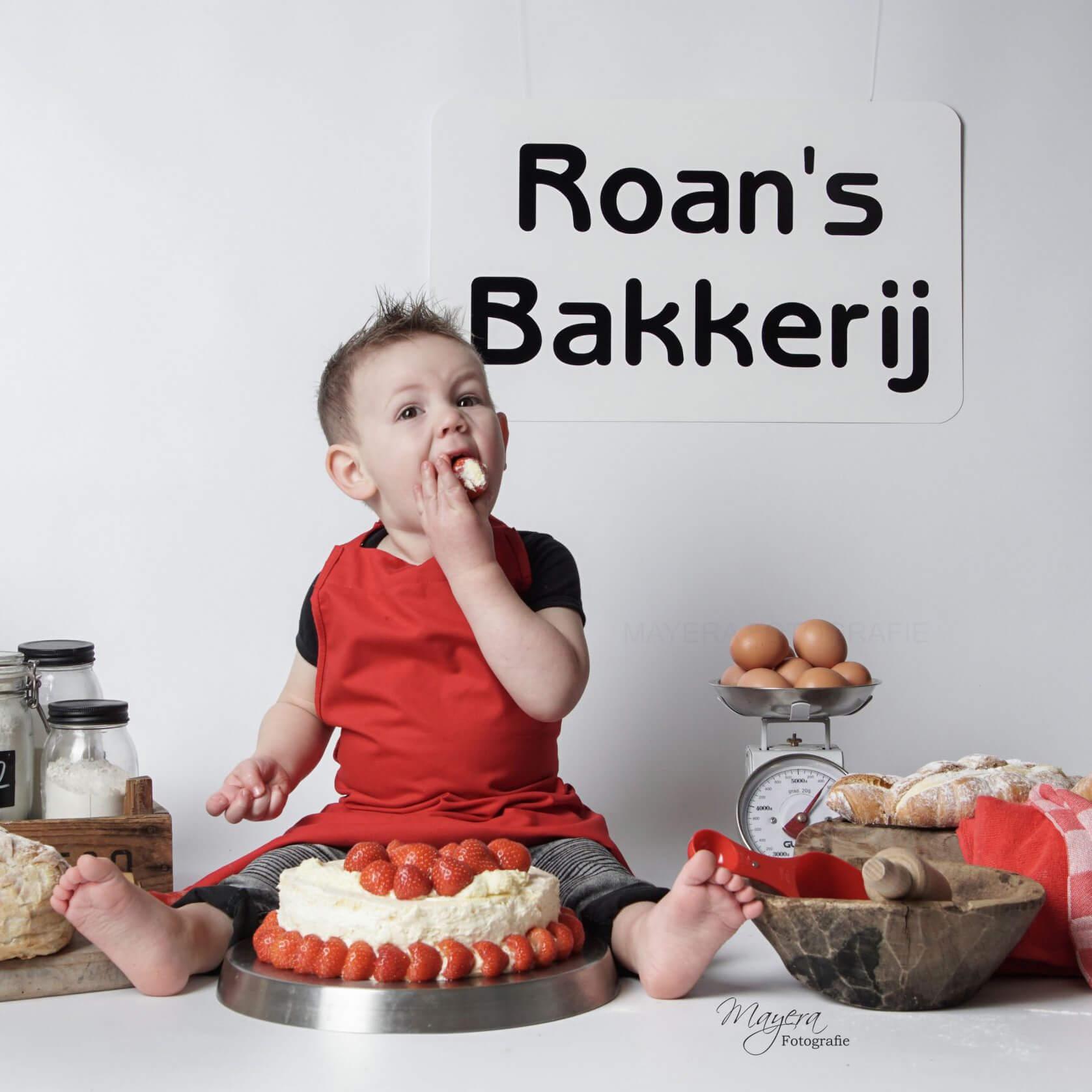 Cake Smash Thema Bakkerij