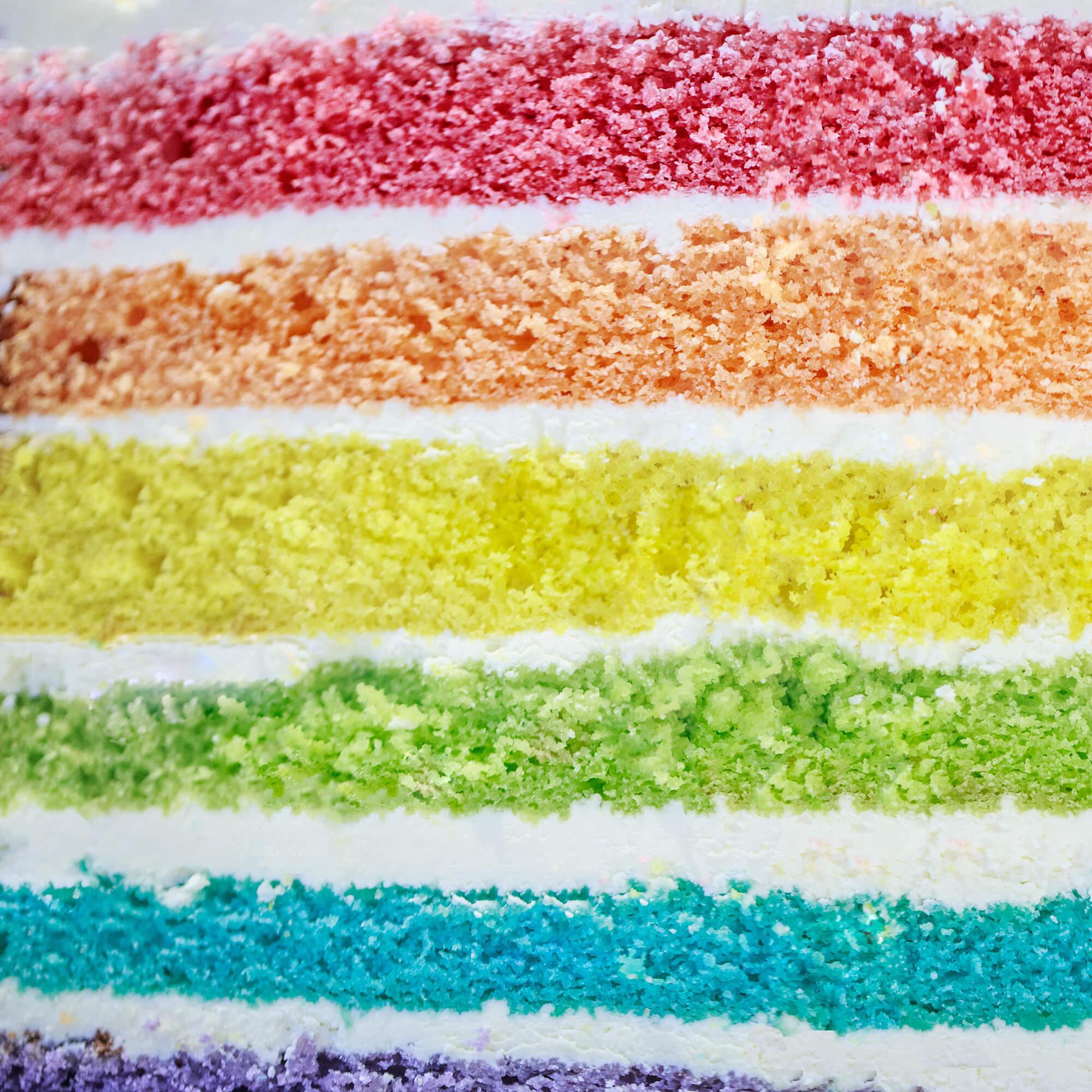 Regenboog Cake Voorbeeld