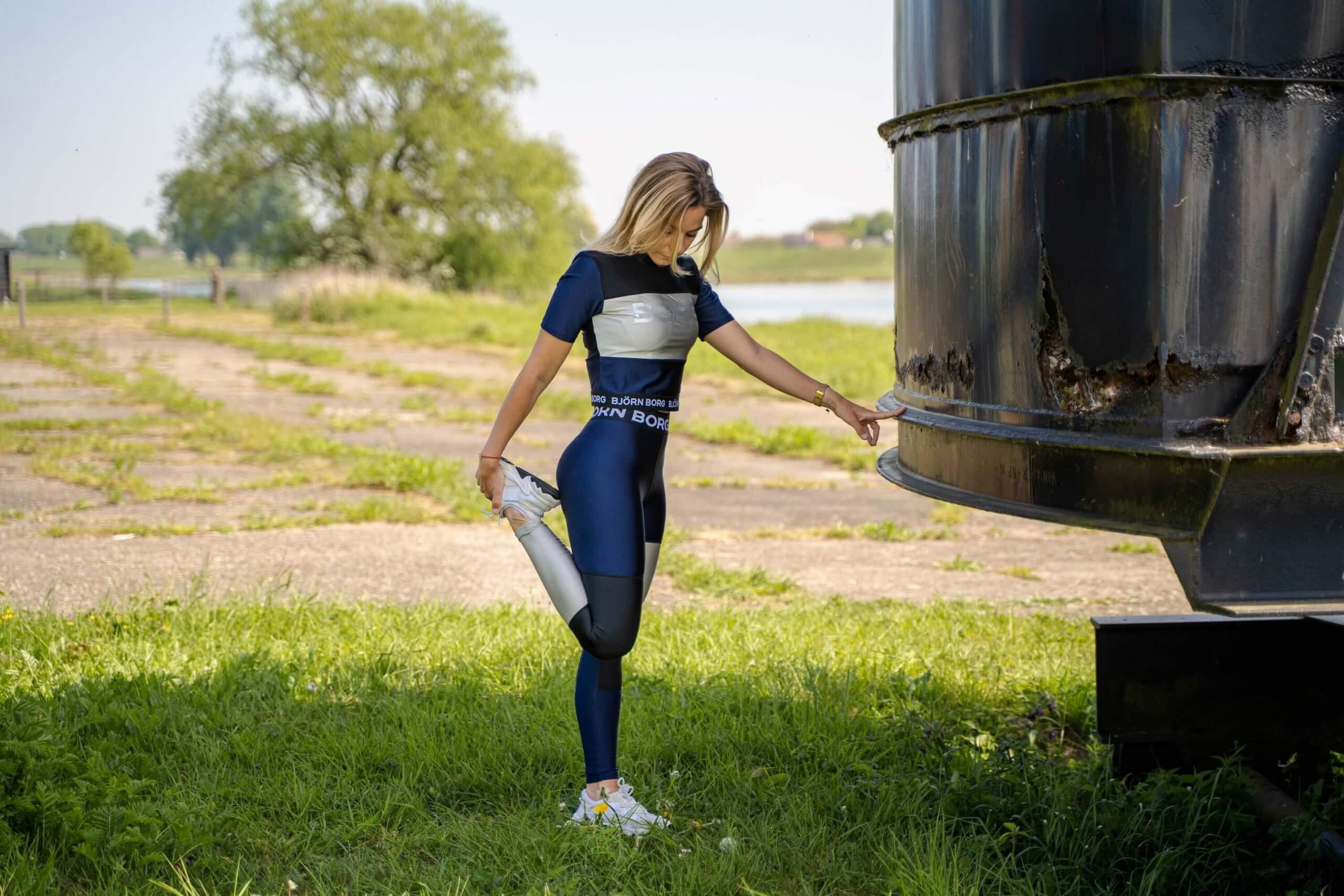 Bedrijfsfotografie ondernemer vrouwelijke ondernemer zzp sport sportief eigen bedrijf content