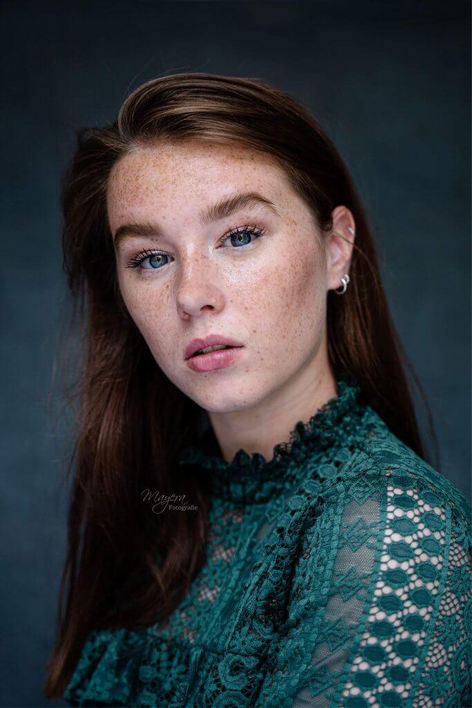 portret meisje daglight naturel