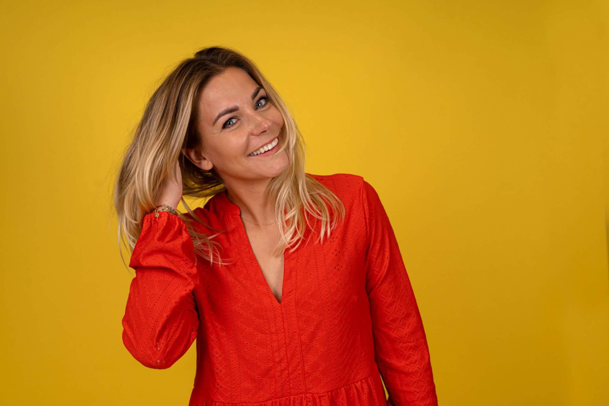 Bedrijfsfotografie business content zzper vrouwelijke ondernemer Lekkerkerk Say yes to health