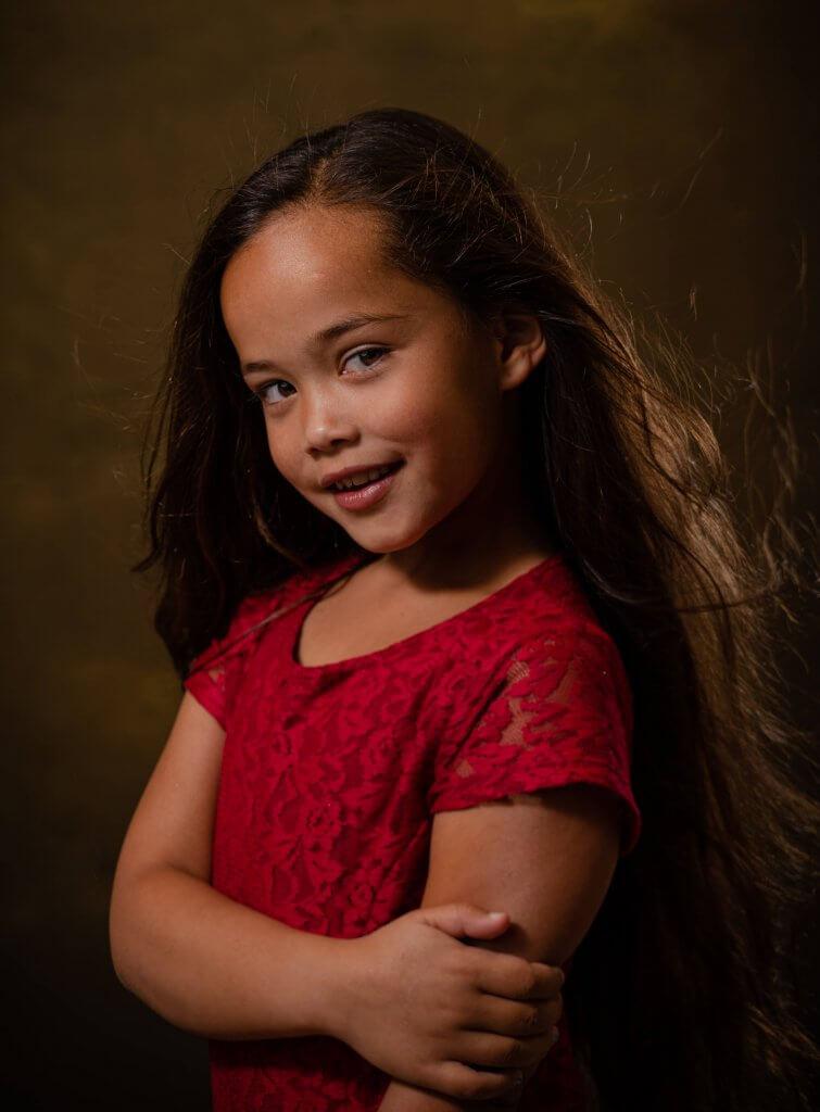 Portret meisje studio model in de dop bunnik zeist amerongen