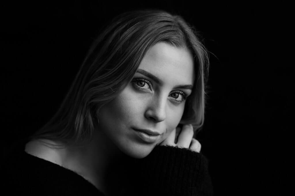 Portret zwart wit black and white reeuwijk gouda