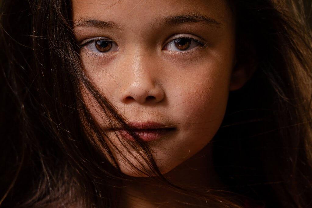 portret meisje close up eyes vleuten utrecht