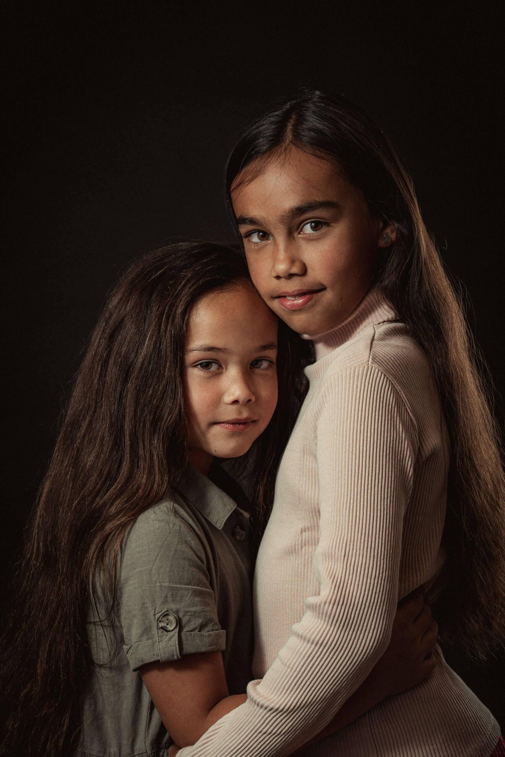 Familie portret zussen zusjes Tiel Ede Veenendaal Leersum