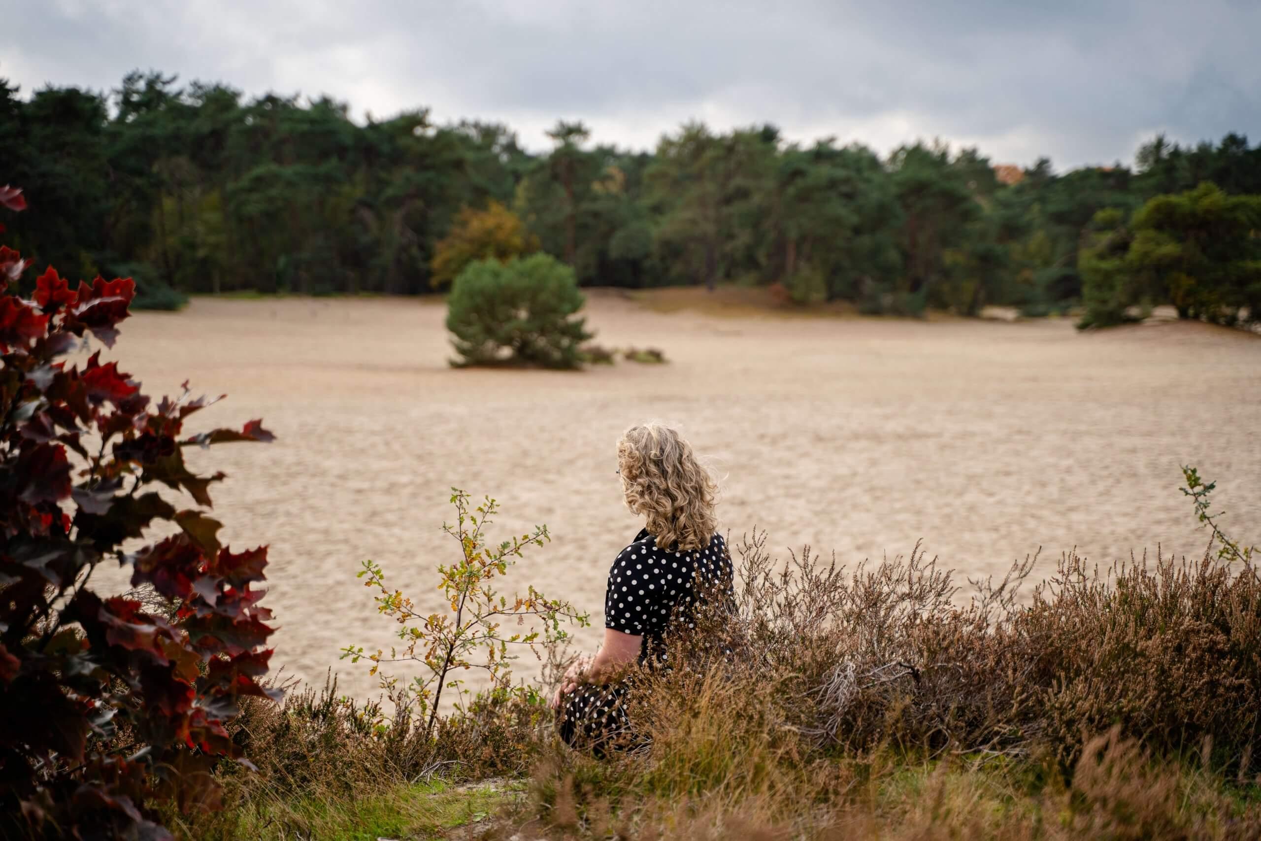 Bedrijfsreportage content beeldbank buiten bedrijf zzper vrouwelijke ondernemer vrouw soesterduinen soest