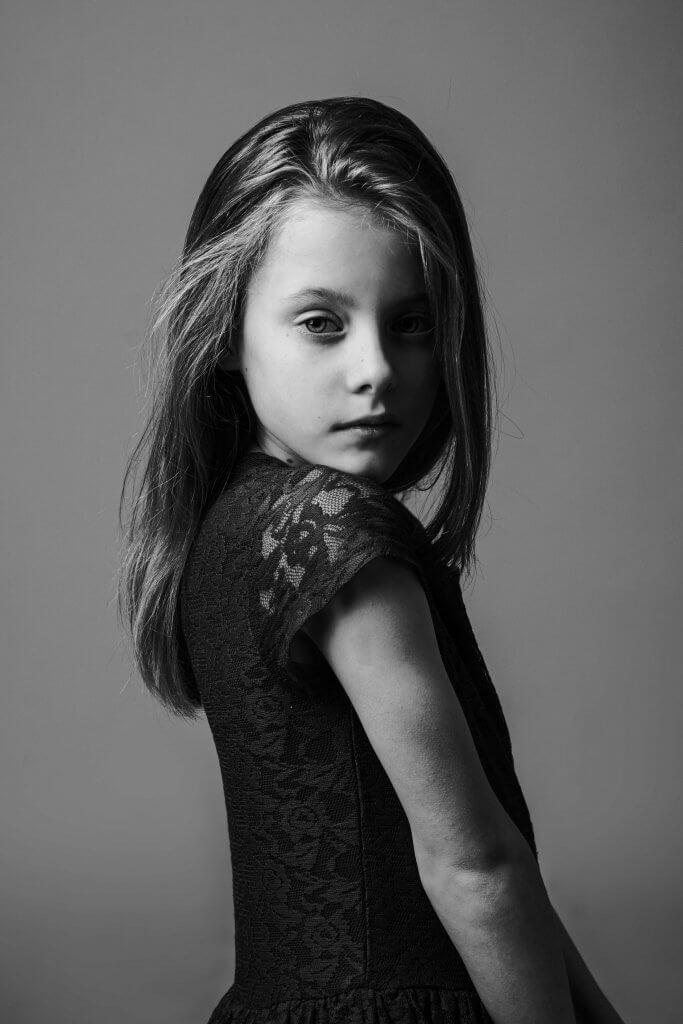 Portret meisje model pose studio lights oudewater reeuwijk utrecht